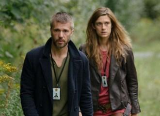 Szenenbild aus BEFOREIGNERS - Lars (Nicolai Cleve Broch) und Alfhildr (Krista Kosonen) - © HBO Nordic