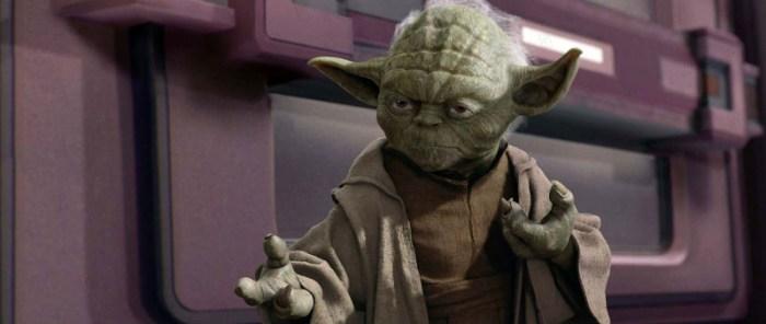 Szenenbild aus STAR WARS: EPISODE 3 - THE REVENGE OF THE SITH (2005) - Yoda - © Lucasfilm Ltd.