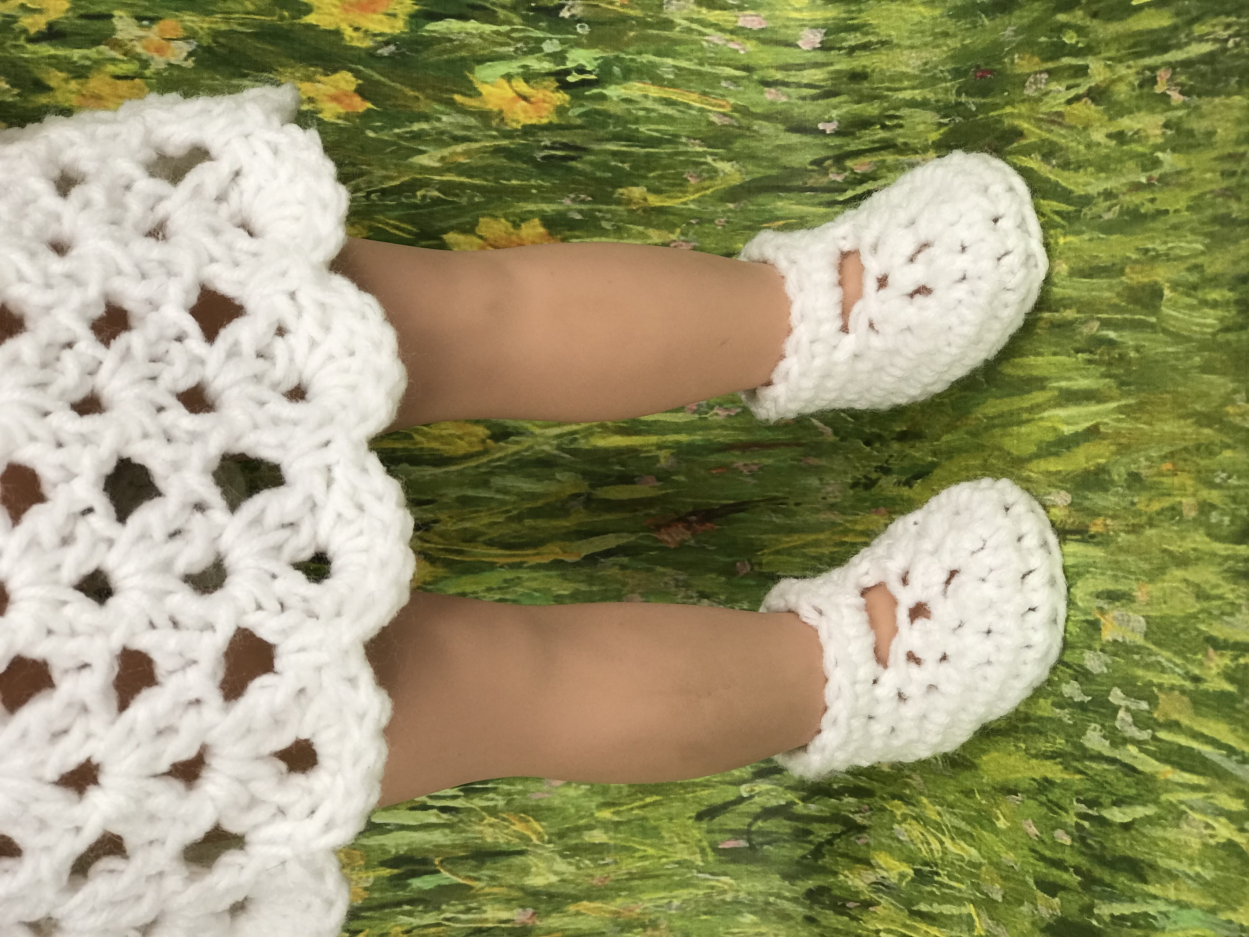 picture relating to 18 Inch Doll Shoe Patterns Free Printable named Crochet 18\