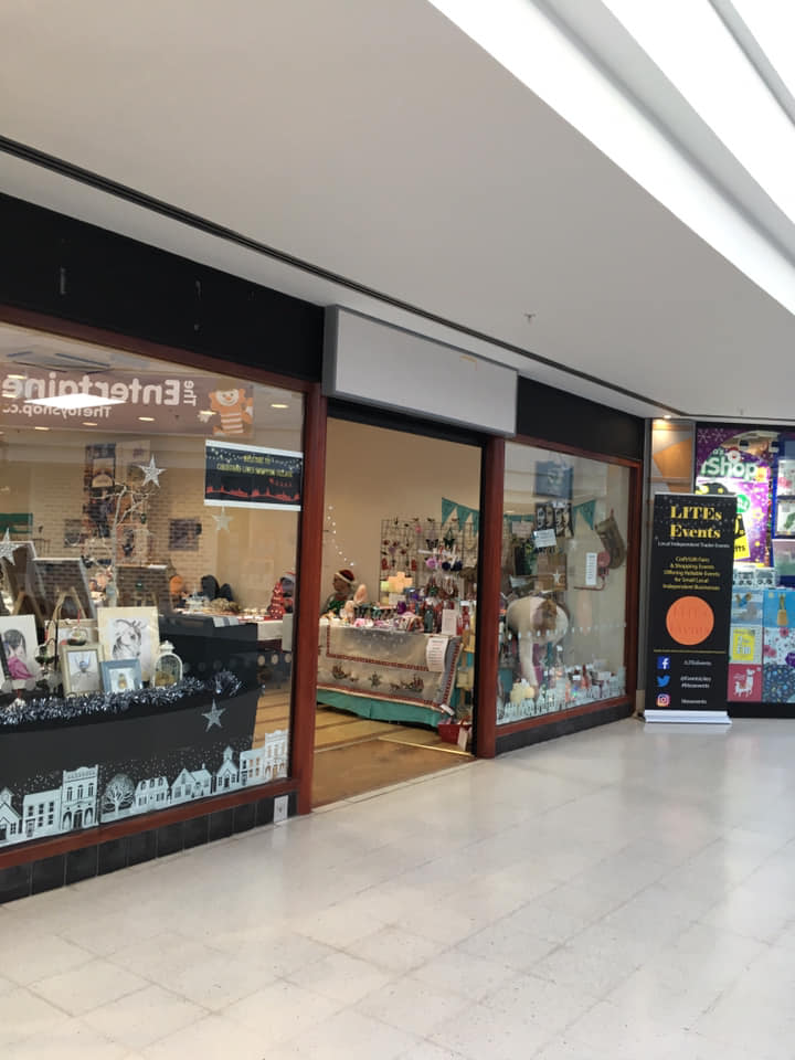 Pop Up Shops with LITEs Events