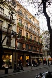 As the light started waining, we walked toward the Plaza del Ayuntamiento.