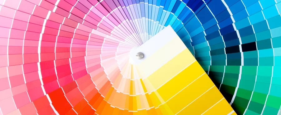 As melhores cores para trabalhar