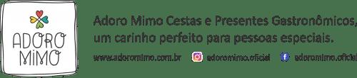 Cabeçalho de e-mail da Adoro Mimo