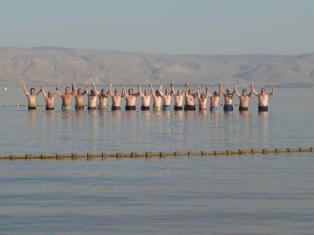 Sea Of Galilee Polar Bear Swim J Crouse