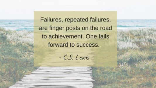 the art of failing forward: how to redefine success