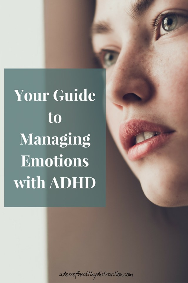 Managing our emotions with ADHD