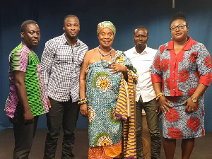 Maame Dokono to stage 'By The Fire Side' live with old cast