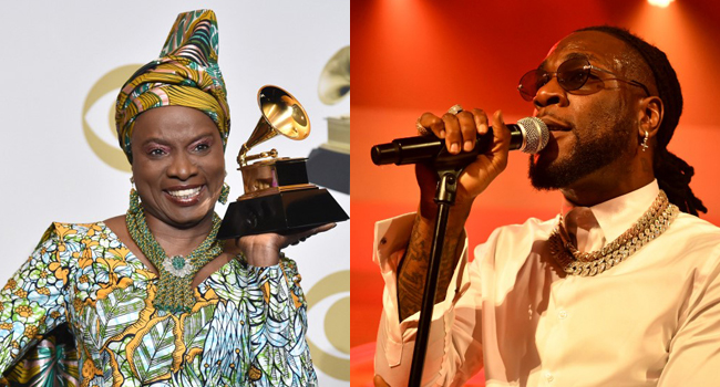 I felt totally sick- Burna Boy on loosing out at the Grammys to Angelique Kidjo