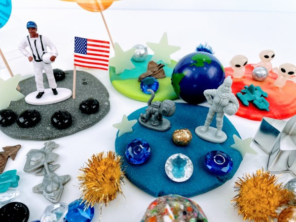 outer space playdough kit
