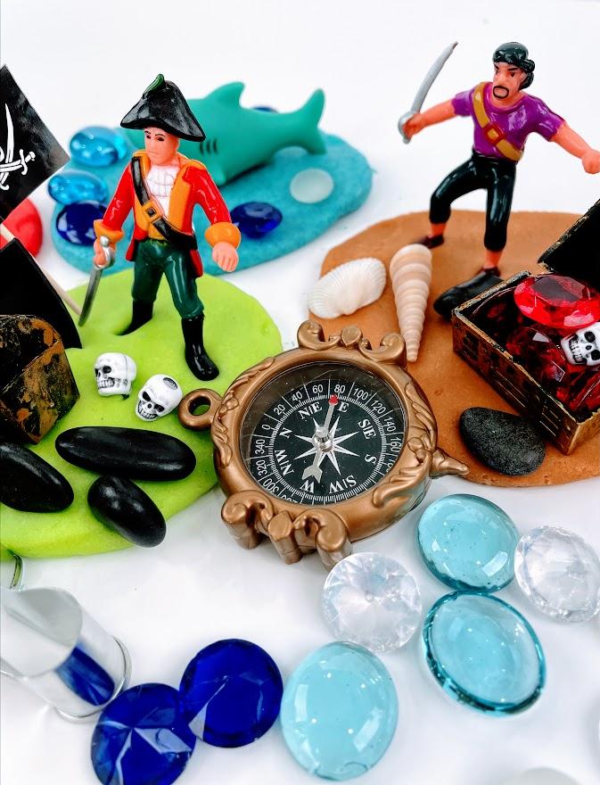 pirate playdough set