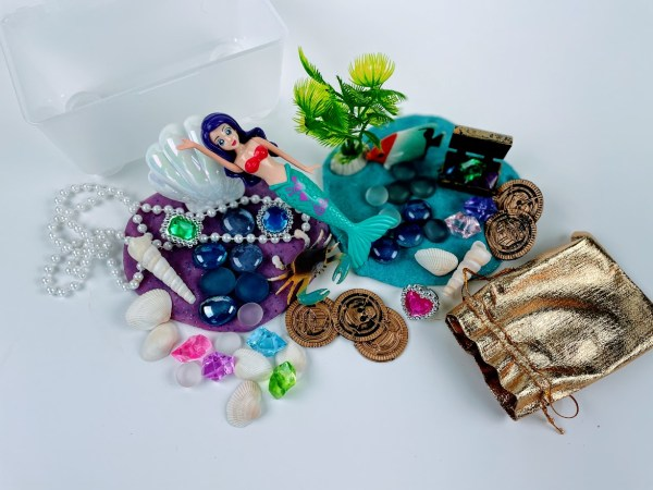mermaid playdough kits