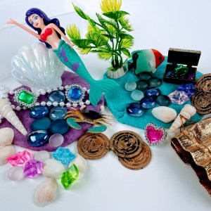 mermaid playdough kit