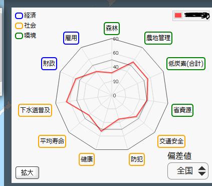 レーダーチャート1