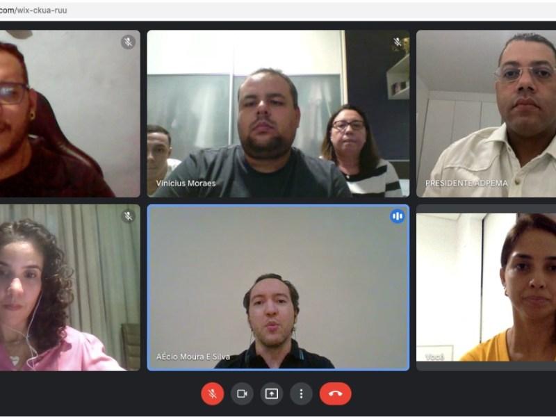 ADPEMA reúne-se com família do jornalista Roberto Fernandes para tratar de novo projeto da Associação
