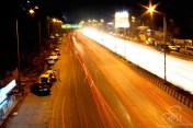 Snap @ Western Express Highway, the most busiest road in Mumbai