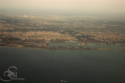 Arial View of Chennai Port