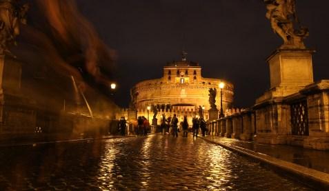 Bridge to Castel Sant'Angelo