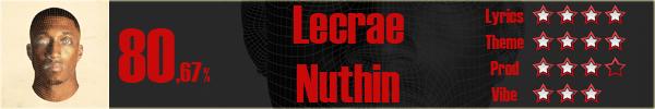 Lecrae-Nuthin