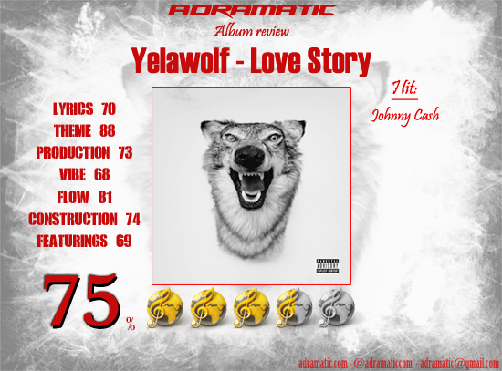 YELAWOLF - Love Story (review - 75%)