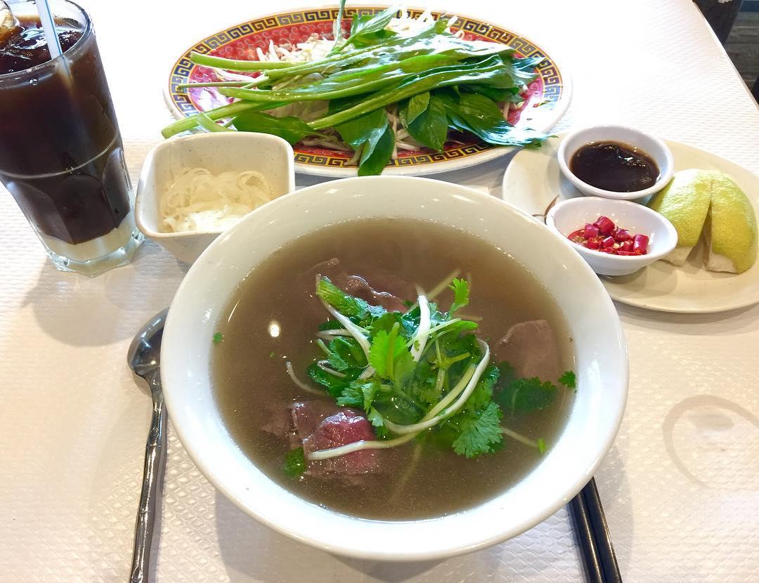 Pho-Vietnamese beef noodle