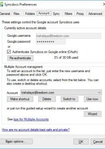 Cómo ejecutar varias instancias de la unidad de Google en Windows