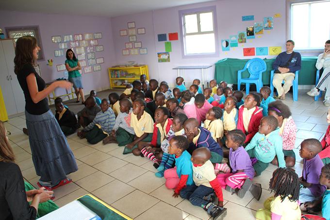 Scuola-namibia
