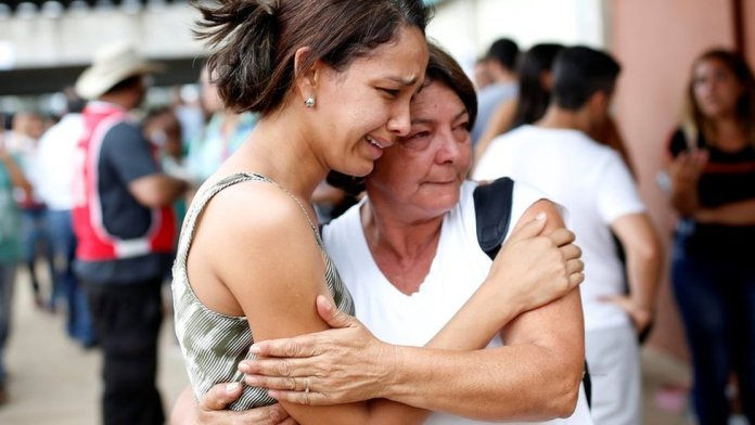 Dozens of families were affected by the disaster