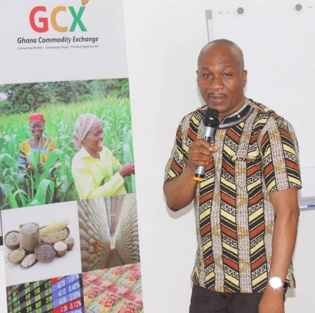 Dr. Kadri Alfa, CEO of Ghana Commodity Exchange