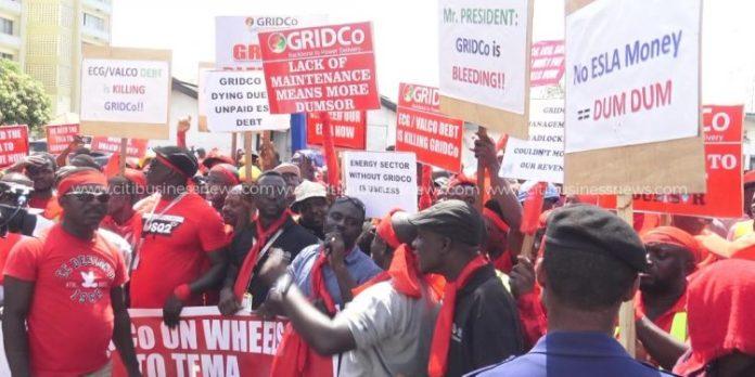 GRIDCo staff begin indefinite 'sit-down' strike on Wednesday