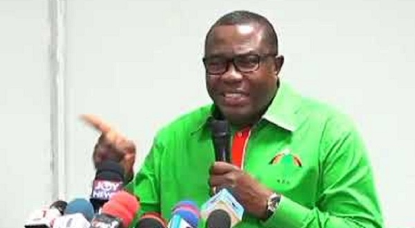 Samuel Ofosu Ampofo, National Chairman of NDC.