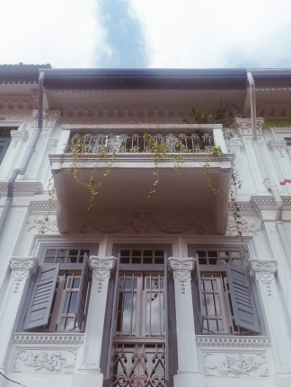 Shophouse heritage conserved building architecture Singapore