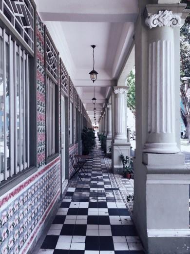 Singapore heritage shophouse architecture building Petain road