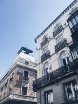 Madrid Spain architecture travel building facade design