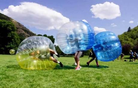 Barnkalas Göteborg bubble football
