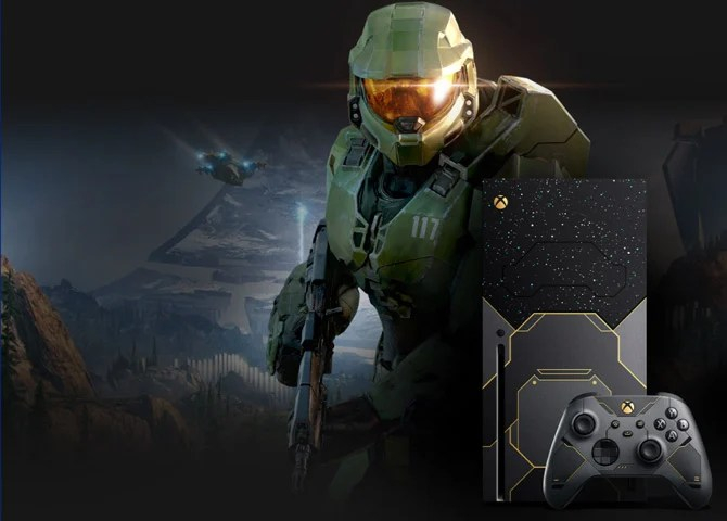 Xbox Series X from Halo Infinite