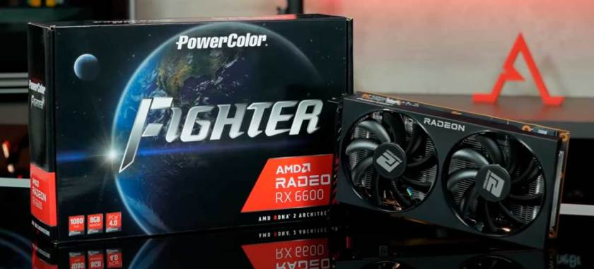 AMD Radeon RX 6600 in action!  We play with the cheapest RDNA 2