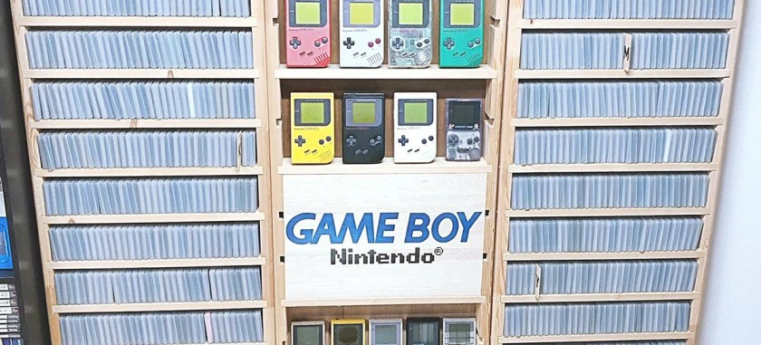 Japanese fan completes collection with all 1244 games ever released for Game Boy