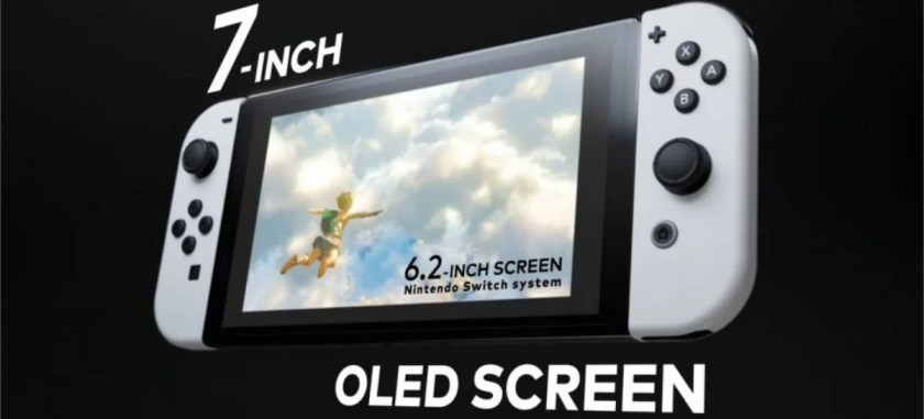 Nintendo Announces New Nintendo Switch with OLED Screen