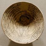 Incantation Bowl with demon