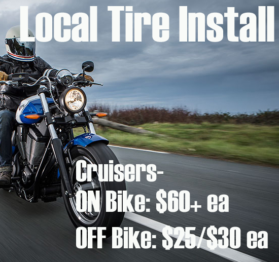 CRUISER MOTORCYCLE TIRES