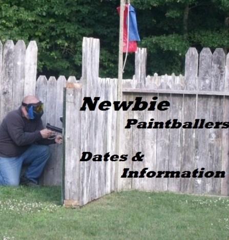 Newbie Baintballers