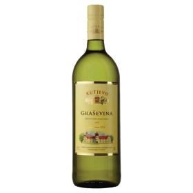 Kutjevo Graševina 1l | Adria-Klik Superbrza dostava Kutjevo Vina. Naruči namirnice, vina, delicije, craft pive, domaće darvone pakete eko bio organic. Graševina Kutjevo 1l, Kutjevačka graševina
