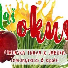 Limunska Trava - Jabuka Sok 200ml Naš Okus