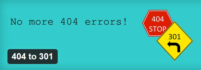 404 na 301 redirekcija