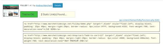Theme Authenticity Checker prikljucak za wordpress