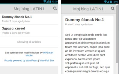 wp smart mobile wordpress prikljucak