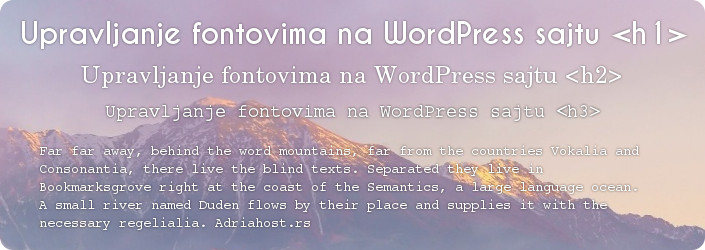 adriahost-upravljanje-fontovima-na-wordpressu
