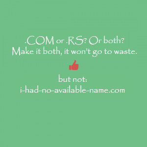 How To Wisely Pick An Excellent Domain Name