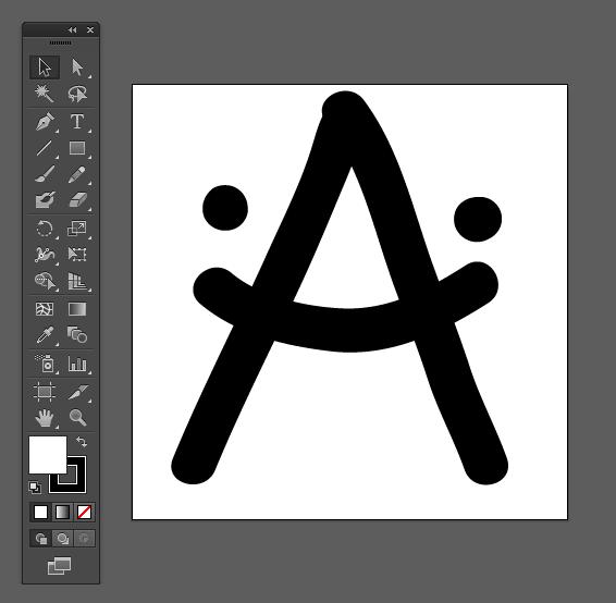 Адриахост - цртање фонтова у иллустратору
