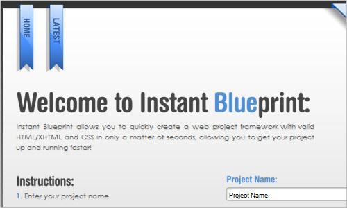 Instant Blueprint